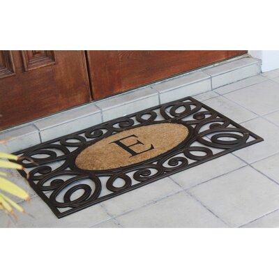 Baggs Monogrammed Doormat Letter: E