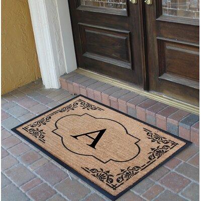 Albertina Doormat Letter: A