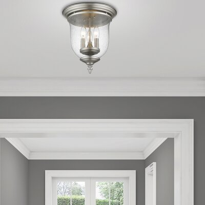 Sackler Flush Mount Finish: Brushed Nickel