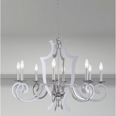 Dartmoor 8-Light Candle-Style Chandelier