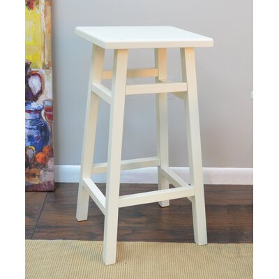 Harbert 30 Bar Stool Finish: Antique White