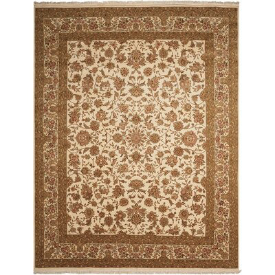 Franciscan Handmade Ivory Area Rug Rug Size: Rectangle 79 x 99