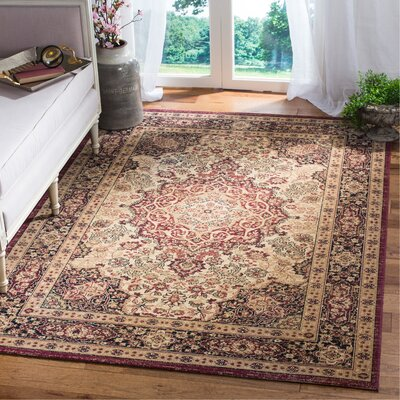 Marion Brown Area Rug Rug Size: Rectangle 51 x 76