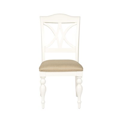 Gracehill Side Chair (Set of 2) Color: White