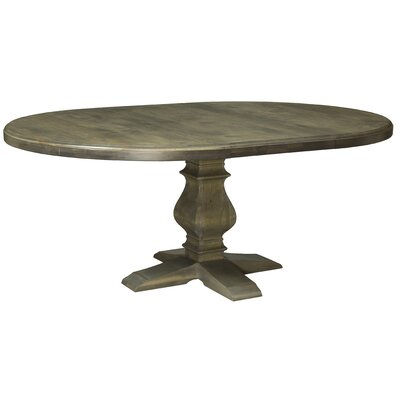 Gaspard Maple Dining Table Color: Distressed Nantucket, Size: 29.75 H x 80 W x 80 D