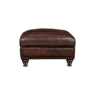 Trecartin Leather Ottoman
