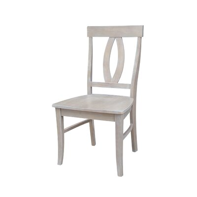 Altman Solid Wood Dining Chair Finish: Wash Weathered Grey