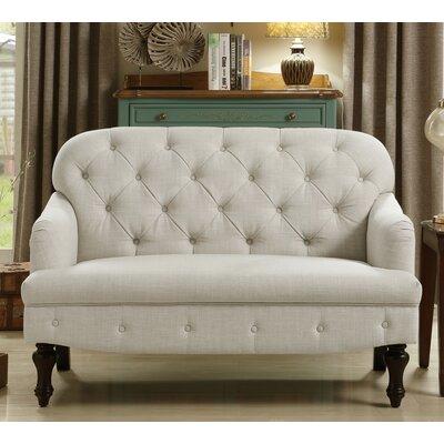 Fonzo Loveseat Upholstery: Beige