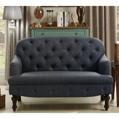 Fonzo Loveseat Upholstery: Charcoal