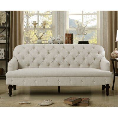 Fonzo Tufted Sofa Upholstery Color: Beige