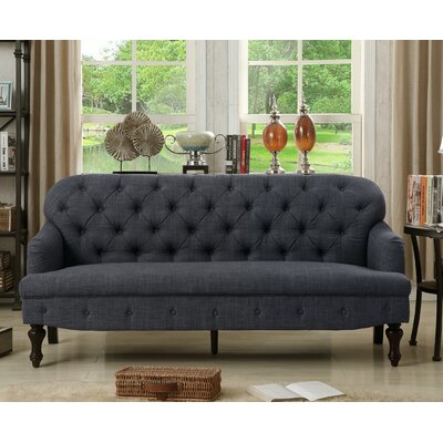 Fonzo Tufted Sofa Upholstery Color: Charcoal
