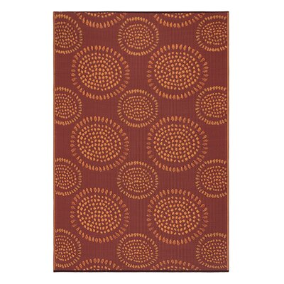 Tammie Reversible Indoor/Outdoor Doormat Mat Size: Rectangle 5 x 8, Color: Red
