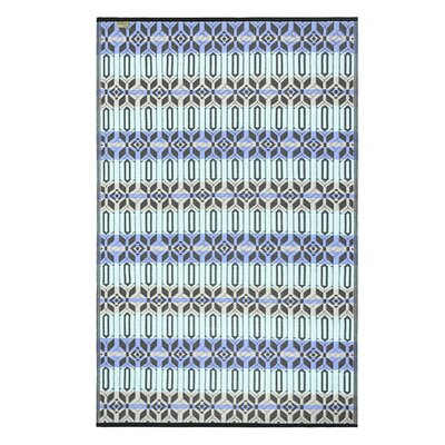 Tammie Reversible Indoor/Outdoor Doormat Mat Size: Rectangle 4 x 6, Color: Dark Periwinkle