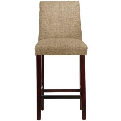 Cyrus Bar Stool Upholstery: Linen