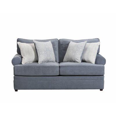 Simmons Upholstery Dorothy Loveseat Upholstery: Abington Seven Seas