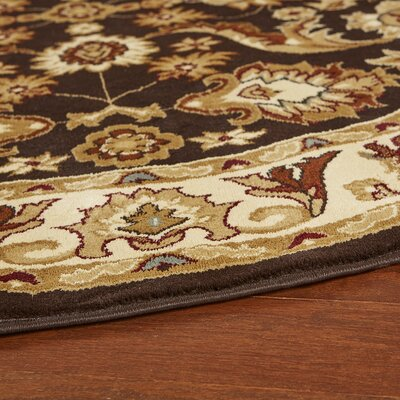 Carrie Persian Red/Black Area Rug Rug Size: Rectangle 9'2