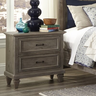 Stearns 2 Drawer Nightstand