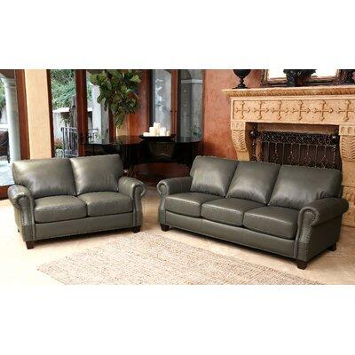 Cairnbrook 2 Piece Leather Living Room Set
