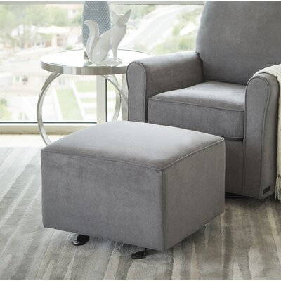 Lake Ottoman Upholstery: Gray