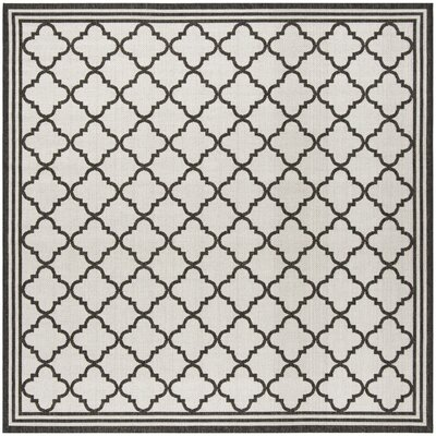 Burnell Contemporary Light Gray Area Rug Rug Size: Square 67