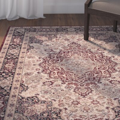 Marion Brown Area Rug Rug Size: Rectangle 8 x 10