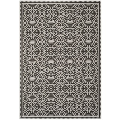 Burnell Light Gray Area Rug Rug Size: Round 67