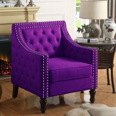 Cash Armchair Upholstery: Violet
