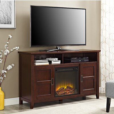 Flintwood 52 TV Stand with Fireplace Finish: Coffee