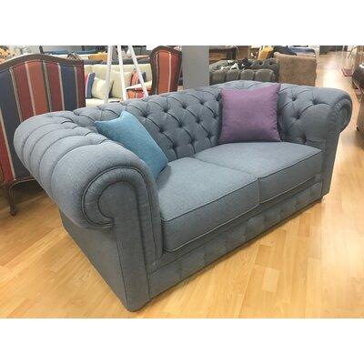 Aurelia Loveseat Upholstery: Gray