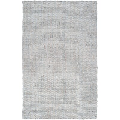 Light Hand-Woven Gray Area Rug Rug Size: Rectangle 5 x 8