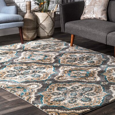 Auburn Road Gray Area Rug Rug Size: Rectangle 710 x 1010