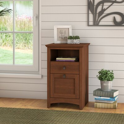 Fralick 2-Drawer Vertical Filing Cabinet Finish: Serene Cherry 67E64C1A7EE346488E17AD19A7BDF7CE