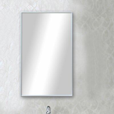 Polished Silver Floor Mirror DABH1748