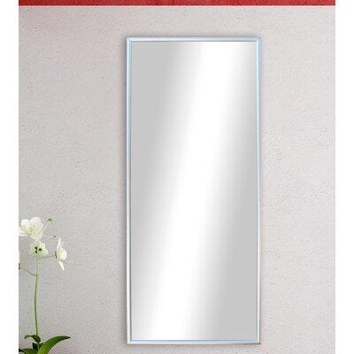 Polished Silver Floor Mirror DABH1752