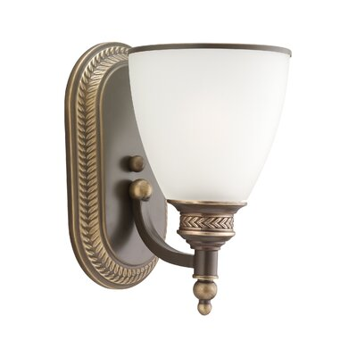 Westerville 1-Light Armed Sconce Finish: Estate Bronze