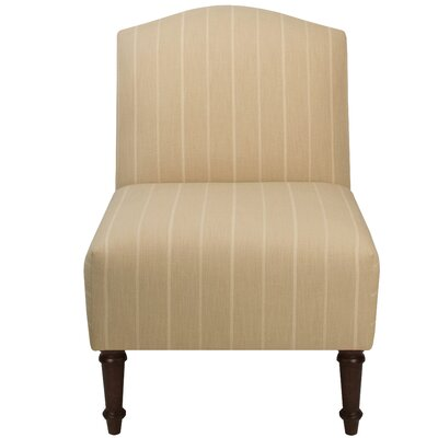 Springdale Camel Back Slipper Chair Upholstery: Fritz Dove, Nailhead Detail: No Trim