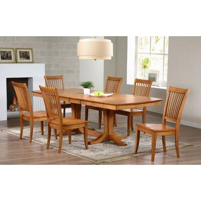 Garden Grove Extendable Dining Table Finish: Autumn