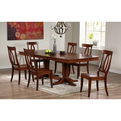 Garden Grove Extendable Dining Table Finish: Chestnut