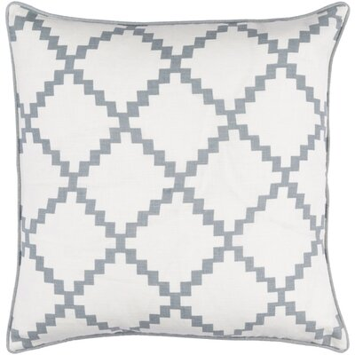 Eversole Throw Pillow Size: 20 H x 20 W x 5 D, Color: Slate