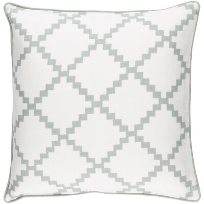 Eversole Throw Pillow Size: 18 H x 18 W x 4 D, Color: Moss
