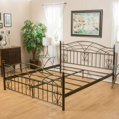 Salesville Panel Bed Size: Cal King