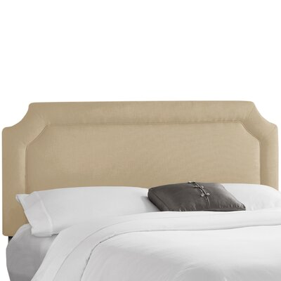 Klein Upholstered Panel Headboard Upholstery: Klein Ricepaper, Size: California King