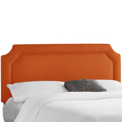 Klein Upholstered Panel Headboard Upholstery: Klein Saffron, Size: Twin