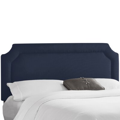 Klein Upholstered Panel Headboard Size: Full, Upholstery: Klein Midnight