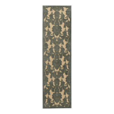 Castle Heights Teal Area Rug Rug Size: Runner 23 x 8