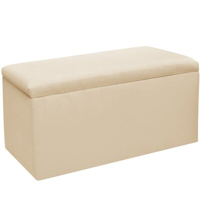 Woodstock Twill Storage Bench Color: Twill Natural