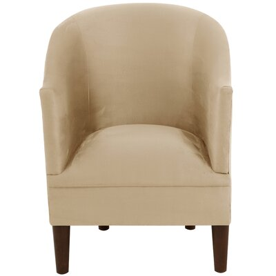 Diana Barrel Chair Upholstery: Velvet Light Grey