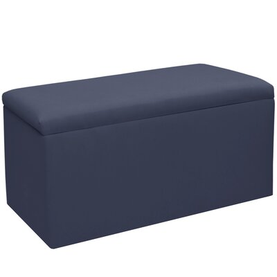 Woodstock Twill Storage Bench Color: Twill Navy