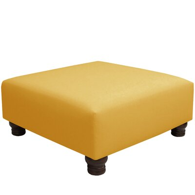 Jacksonville Linen Square Cocktail Ottoman Upholstery: Linen French Yellow