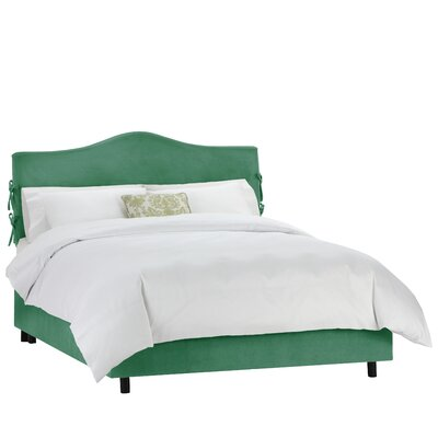 Walden Upholstered Panel Bed Color: Regal Laguna, Size: King